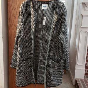Old Navy wool blend jacket, coat NWT,  size XL